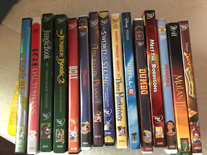 Miscellaneous Animated dvds
