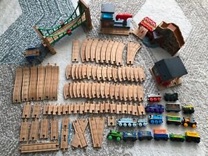 Authentic Wooden Thomas the Train Engine