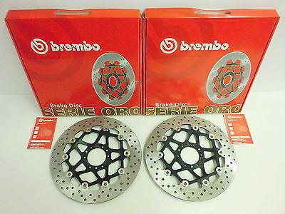 Brembo Bremsscheiben vorne komplett Honda CBR 600 F PC35 CBR 900 Fireblade SC28