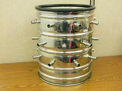 Thermo Modulyod 115 Bench Top Freeze Dryer Stainless Steel 24-port Manifold Drum