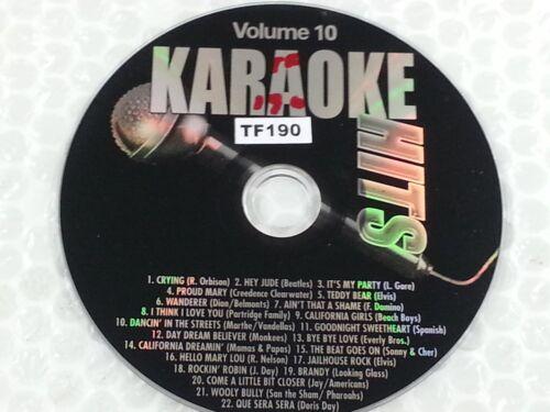 Karaoke Hits Disc Vol. 10 CDG CD+G