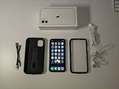 Apple iPhone 11 - 64GB - White (AT&T) A2111 (CDMA + GSM)   2 MONTHS OLD