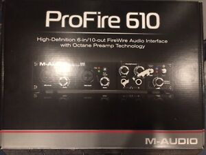 ProFire 610 - Audio Interface