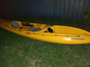 Kayak _mission_angler 390 sit on top Adelaide CBD Adelaide City Preview