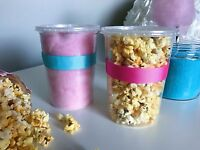 Fresh Cotton Candy & Popcorn - Wedding Favours