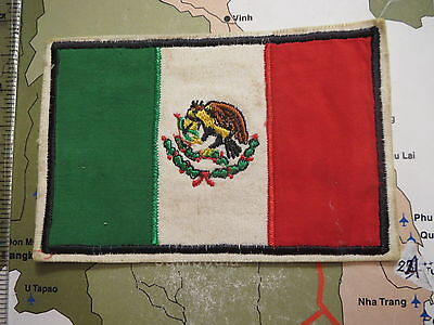 PATCH , MEXICO FLAG