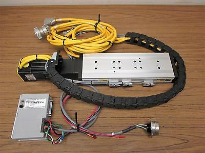 Parker 802-1611a Linear Slide Cm232be 01314b Compumotor And 770t Servo Drive