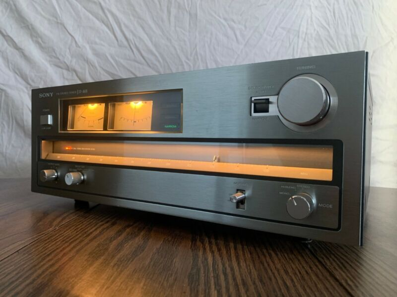 SONY ST-A6B FM STEREO TUNER - TESTED AND CLEANED