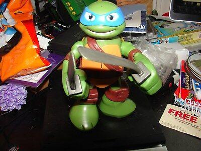 NINJA TURTLE LEO WITH HIS BLUE MASK ARMS MOVE AND HE - Blue Ninja Turtle