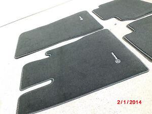2000 2006 mercedes benz s55 amg floor mat mats w220 s430 s500 s600 original new. Black Bedroom Furniture Sets. Home Design Ideas