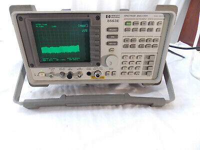 Hewlett Packard 8563e 9khz-26.5 Ghz Spectrum Analyzer Tested With Calibration