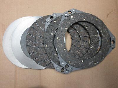 Clutch Discs Set For John Deere 70 720 730 -- Riveted