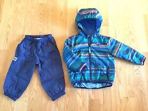 Doudoune mi-saison et pantalons de nylon MEC 18-24 mois