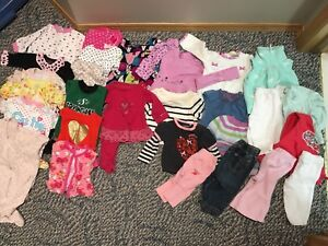 0-6 months baby girl lot