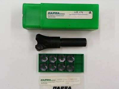 Dapra Hvem125x75r5-2 1 Index. Cutter Oxch 534d Dmp256 Carbide Inserts D203