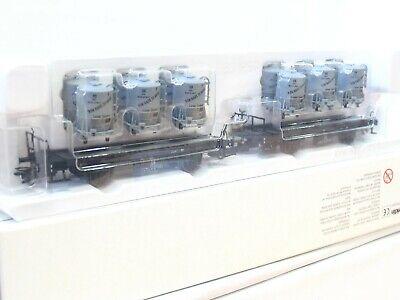 Märklin H0 48945 2er Set Behältertragwagen von Haus zu Haus DB OVP (BM147)