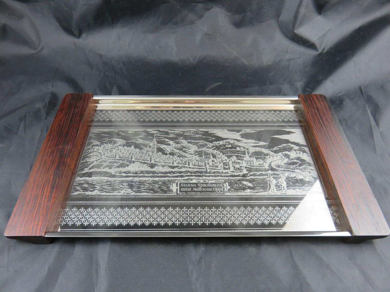 serviertablett holz griffe edelstahl boden mit bild segena famofum co anno 1584 chf. Black Bedroom Furniture Sets. Home Design Ideas