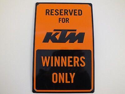 0544a KTM Blechschild Parkschild PARKING PLATE Winners ONLY 3PW1871800 Schild ❗️