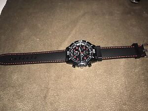 GT GRAND TOURING WATCH RED AND BLACK A1 CONDITION Bass Hill Bankstown Area Preview