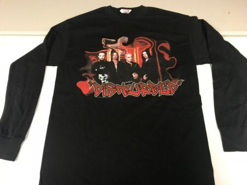 Disturbed Medium The Sickness 2001 Longsleeve Shirt READ DESCRIPTION