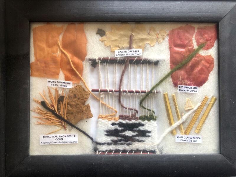 Framed Navajo (Dine