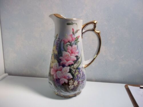 PITCHER HAND PAINTED   #20