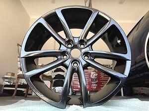 "Genuine 20"" GM SUPERSPORTS Pre VE Drilled Gloss Black Holden hsv vz vy Kellyville The Hills District Preview"