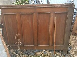 Antique all wood panelling pieces Petersham Marrickville Area Preview