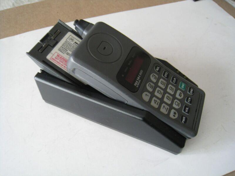 Vintage Motorola Teletac Cell Phone Bundle