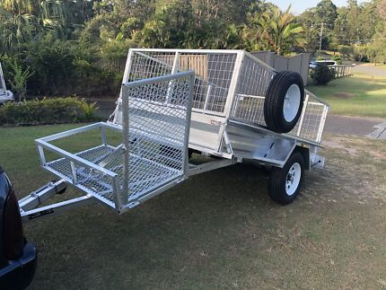 New Tilt 8'x5'Mowers tray Trailer Galvanized  Reedy Creek Gold Coast South Preview