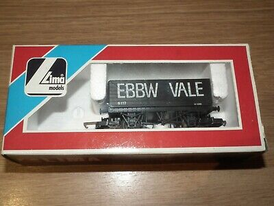 LIMA EBBW VALE COAL WAGON WITH COAL LOAD MINT BOXED 00 GAUGE SUIT HORNBY ETC