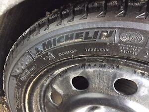 Great condition Winter tires 215/50R17 with rims