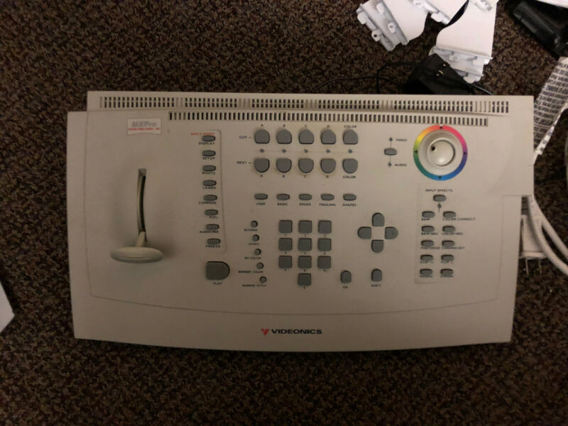 VIDEONICS MXPro MX3000 NTSC Video Mixer -- No Power Supply