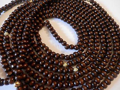 Islamic Prayer Beads 1000ct Mishaba Tasbeeh  Subha  Tesbih Muslim Beads     WOOD