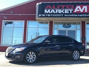 2010 Hyundai Genesis 3.8, Leather, Alloys, WE APPROVE ALL CREDIT