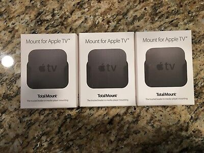 Innovelis TotalMount Pro Mounting Organized whole for Apple TV New 3 pack