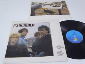 U2-October-PORTUGAL-LP-DACAPO-1st-release-on-both-labels-EX
