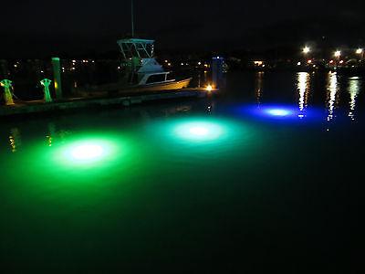 Neptune 3 Green Underwater Dock Light with waterproof transformer 8000 lumens