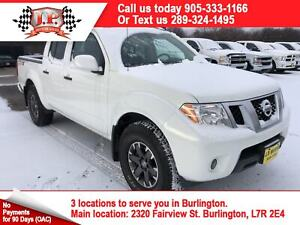 2018 Nissan Frontier PRO-4X, Crew Cab, Leather, 4x4, 18, 000km