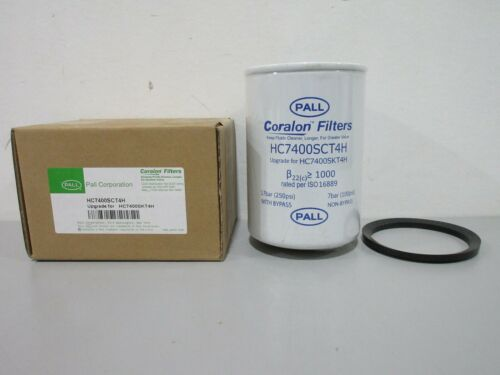 New Pall HC7400SCT4H 250PSI Coralon Filter Element