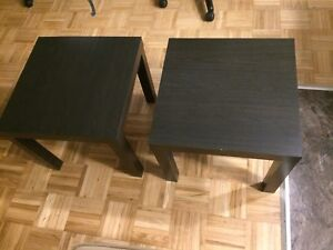 2 End tables - gone pending pick up