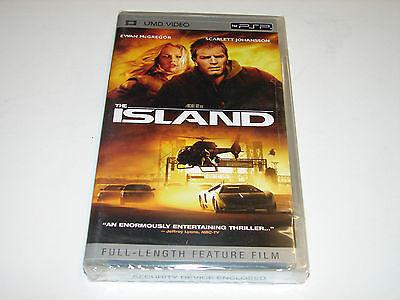 The Island (PSP UMD MOVIE, 2006)    ***NEW SEALED***