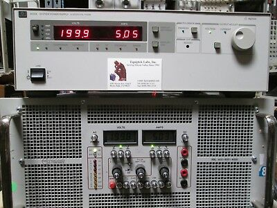Agilent 6030a 0 To 200v 17a 1000wt Adjustable Power Supply Tested Programmable