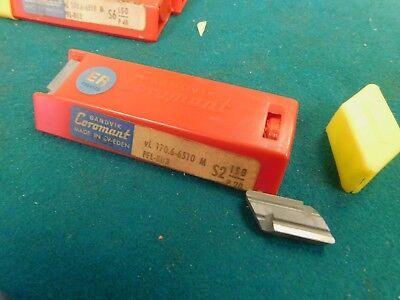 10 Sandvik Coromant Vl 170.6-6510 M Pfl-8u3 Carbide Inserts Knux 160410l
