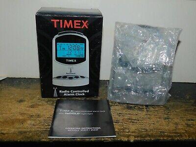 new Timex radio controlled alarm clock model 3534