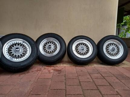 "15"" BBS RS Wheels – rare set"