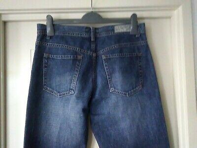 Womans JAG Jeans, Blue Denim, Size 33, 100% Cotton, button front