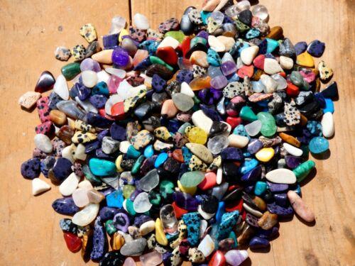 Natural POLISHED GEMS SIZE #3 - 2000 CARAT Lot- Gemstones- Lapidary