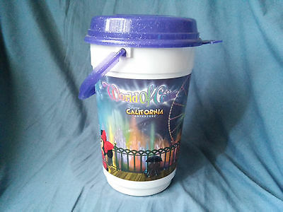Disney California Adventure World of Color Plastic Popcorn Storage Bucket](Plastic Popcorn Buckets)
