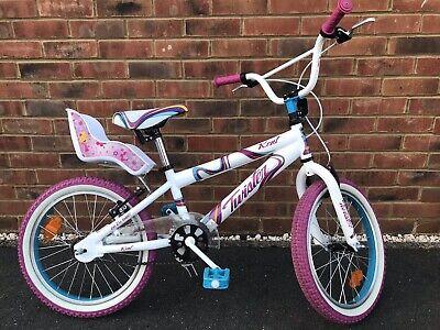 "Girls boys White Pink Kids Twister Kent 18"" Wheel 10"" BMX Bike"